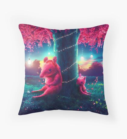 Roos Throw Pillow