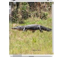 Gator Walking iPad Case/Skin