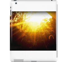 The Sound of SunShine iPad Case/Skin
