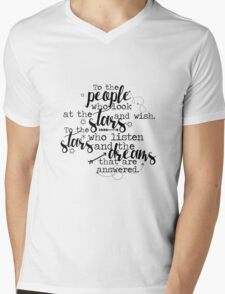 Rhysand and Feyre ACOMAF Mens V-Neck T-Shirt