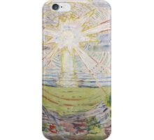 Edvard Munch - The Sun. Munch - sea landscape. iPhone Case/Skin