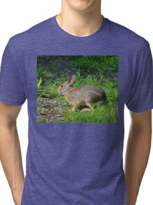 I'm Late, I'm Late...... Tri-blend T-Shirt
