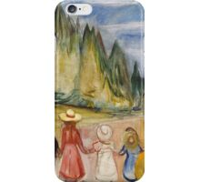 Edvard Munch - The Fairytale Forest. Munch - child portrait. iPhone Case/Skin
