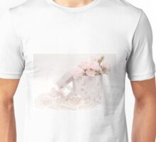 Pink Carnations In Rose Box Unisex T-Shirt
