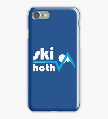 Ski Hoth iPhone Case/Skin