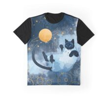 Galaxy Cat Graphic T-Shirt