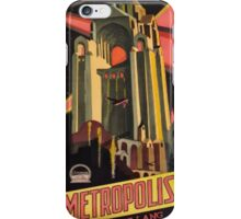 metropolis iPhone Case/Skin