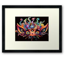 Trippy Baby Framed Print