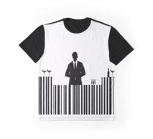 Bar code Bartender Graphic T-Shirt