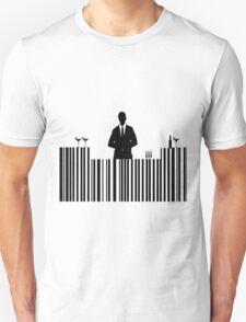Bar code Bartender Unisex T-Shirt
