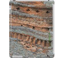 wonky wall iPad Case/Skin