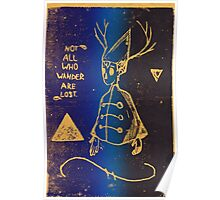Wirt Over the Garden Wall Print variation Poster