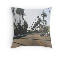 California Streets Throw Pillow