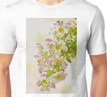 Butterfly Flowers  Unisex T-Shirt