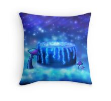 Well of Wishes / Milky Well Galaxy Throw Pillow