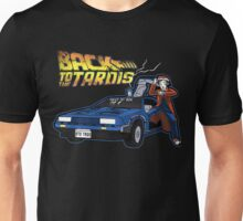 Doctor Who Back The Future Unisex T-Shirt