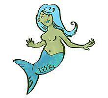 Jewel Mermaid Green Screen! Photographic Print