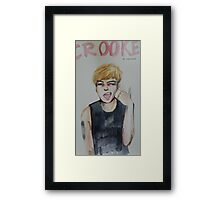 Crooked G-Dragon Framed Print