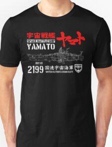 CLASSIC JAPAN ANIME SPACE BATTLESHIP YAMATO STAR BLAZERS COSMO NAVY 2199 Unisex T-Shirt
