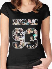 Horan 93 Jersey Number Women's Fitted Scoop T-Shirt
