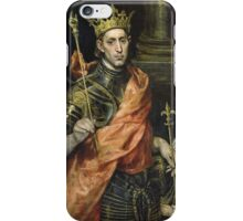 El Greco - St. Louis And His Page. El Greco - man portrait. iPhone Case/Skin