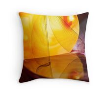 Mistress of Wings Throw Pillow