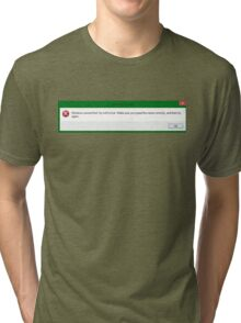 For all you ironically depressed folks Tri-blend T-Shirt