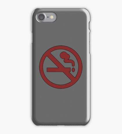 No smoking ~ Adventure Time iPhone Case/Skin