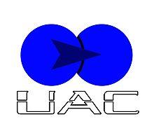 Old UAC Logo Photographic Print