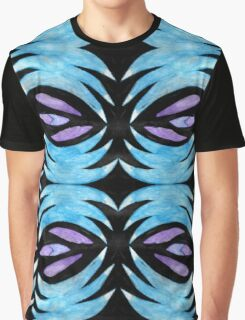 Abstract Water Colour Graphic T-Shirt