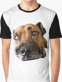 Puppy Dog Vector Portrait Graphic T-Shirt