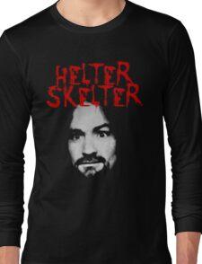 Charles Manson - Helter Skelter Long Sleeve T-Shirt