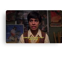 fez quote Canvas Print