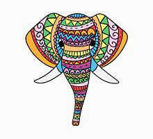 Ethnic colored elephant Unisex T-Shirt