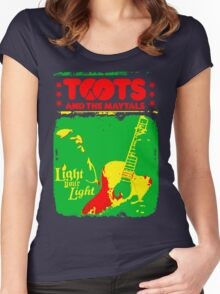 Toots And The Maytals : Light Your Light Women's Fitted Scoop T-Shirt