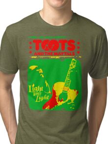 Toots And The Maytals : Light Your Light Tri-blend T-Shirt