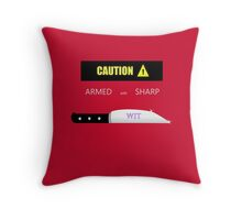 Sharp Wit Throw Pillow