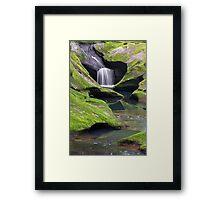 Upper Robinson Falls Framed Print