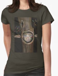 Tree Life Womens Fitted T-Shirt