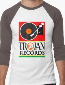 Trojan Records : Player Men's Baseball ¾ T-Shirt