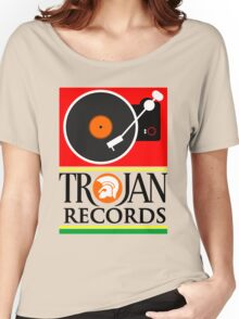 Trojan Records : Player Women's Relaxed Fit T-Shirt
