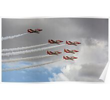 Malta Airshow Performers Poster