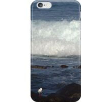 Port Fairy - waves roll in iPhone Case/Skin