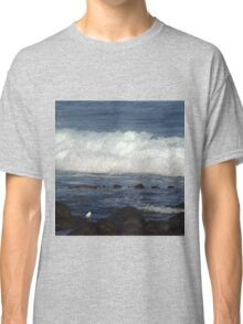 Port Fairy - waves roll in Classic T-Shirt