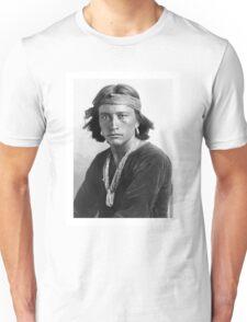 Navajo Boy by Karl Moon Unisex T-Shirt