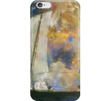 Odilon Redon - Flower Clouds. Odilon Redon - sea landscape. iPhone Case/Skin