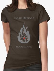House Dresden - Stars and Stones Womens Fitted T-Shirt