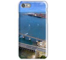 Fremantle port, Western Australia iPhone Case/Skin