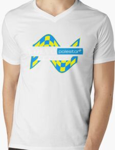 Volvo Polestar Racing Graphic WHT Mens V-Neck T-Shirt