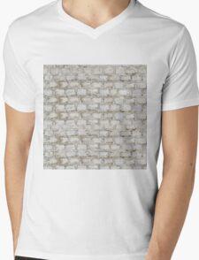 Brick blocks Mens V-Neck T-Shirt